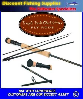 TFO Professional Fly Rod - 4pc 9' 6Wt