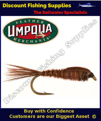 Umpqua Pheasant Tail Weighted #16 Fly