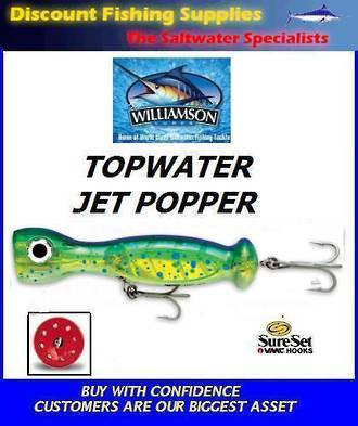 "Williamson Jet Popper - 5"" Dorado"