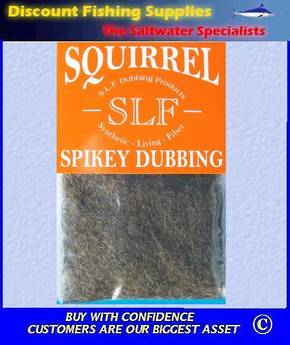 SLF Squirrel Spikey Dubbing - Natural Fox