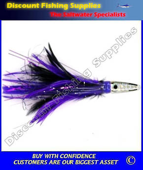 Kilwell Pacific Bullet Lure - Black Purple