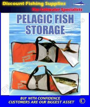 Precision Pak Pelagic Fish Storage Bag - TUNA