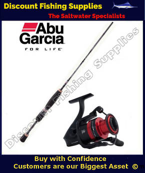 Abu Garcia Salty Fighter Black Max 5-8kg Spin Combo