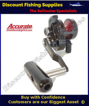 Accurate Slammer BX400N Jigging Reel
