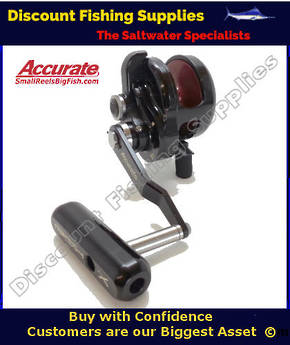 Accurate Slammer BX600NN Jigging Reel