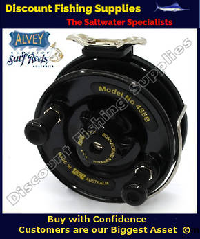 Alvey 455B Graphite Back Harling - Trolling Reel