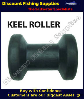 AM - Keel Roller - Black - 100mm x 75mm