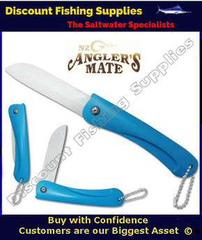 Anglers Mate Folding Ceramic Pocket Knife