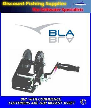 BLA Economy Winch - 4:1 Single Pawl - 450kgs