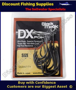 BLACK MAGIC DX POINT HOOK SMALL PACK
