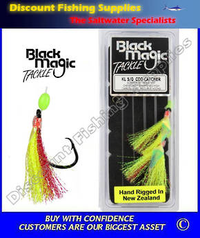 Black Magic Flasher KL5/0 Cod Catcher