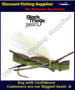 Black Magic Foam Cicada #6
