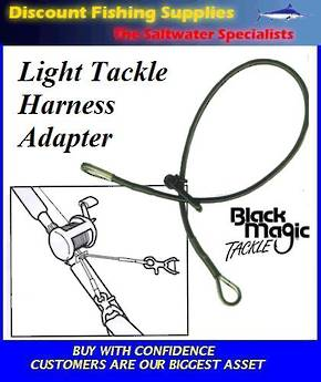 Black Magic Light Tackle Harness Adapter
