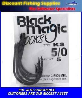 Black Magic KS Hooks - Small Pack