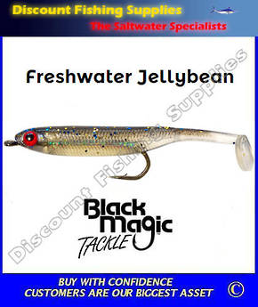 Black Magic Freshwater Jellybean Lure - Dark Smelt