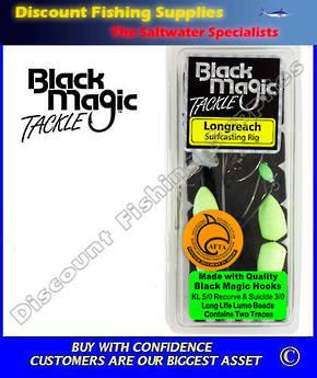 Black Magic Longreach Surfcasting Rig KL5/0 LUMO