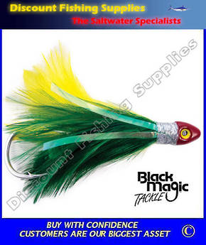 Black Magic Saltwater Chicken - Green Yellow