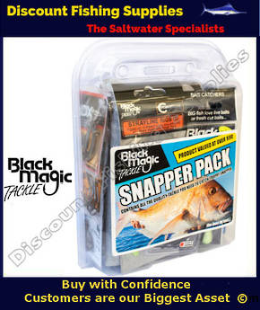 Black Magic Tackle Snapper Pack