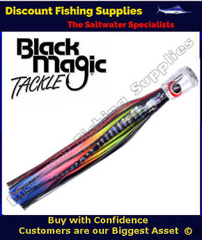 Black Magic SOFT PUSHER RANGE  - Marlin / Tuna Lure - Hot Rocker