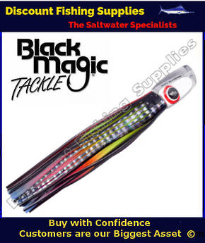 Black Magic SOFT SLAMMER RANGE  - Marlin / Tuna Lure - Hot Rocker