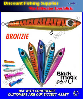 Black Magic Stickbait 130gr Bronzie (RIGGED)