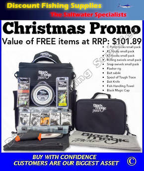Black Magic Tackle Pack - XMAS PROMO (TOTAL VALUE RRP $333-)