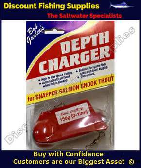 Bob Gandey's Depth Charger - Shallow 150g RED