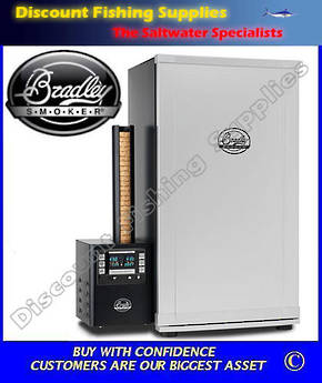 Bradley Digital 4 Rack Smoker - Stainless Steel