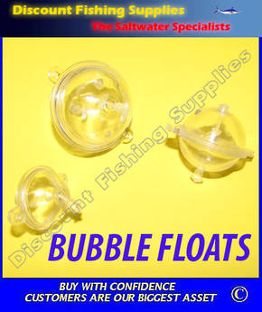 Bubble Float Clear Medium (30mm)