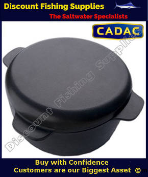 Cadac Cast Iron Casserole/Stew Pot/Grill Pan 4.0 L - Camp Oven