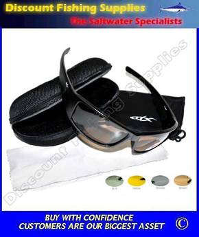 CDX Polarised Sunglasses - Wrapper Yellow