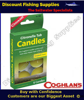 Coghlans Citronella Tub Candles