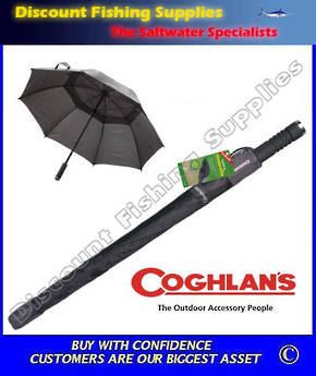 Coghlans Trekking Umbrella (with Torch in Handle)