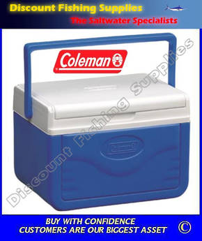 Coleman 5L Take-6 Polylite Cooler - Blue