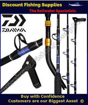 Daiwa Grandwave GW 56HFD Bent Butt Rod for Electric Reel