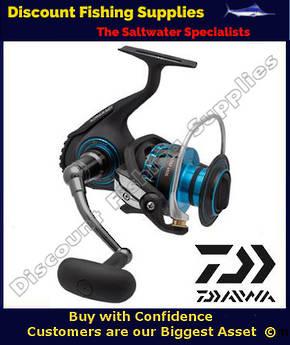 Daiwa Saltist Series Magsealed 5000 Spin Reel