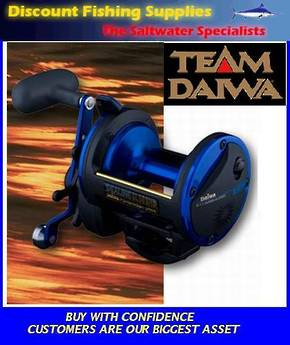 Daiwa Sealine SL30SHB High Speed Reel