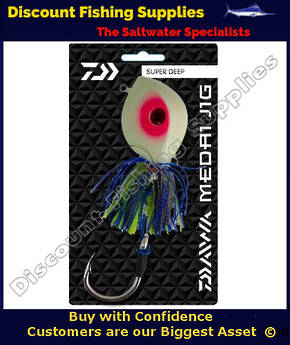 Daiwa Medai Jig Diamond Eye 500g Lumo