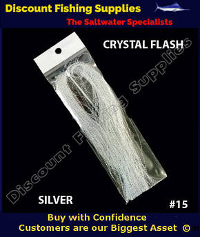 DFS Crystal Flasher Hair - Silver