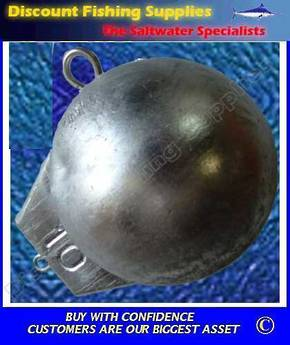 Downrigger Weight - Ball Type 10lb