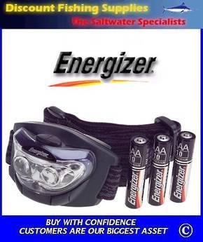 Energizer Headlamp 3 L.E.D.s 60 Lumen
