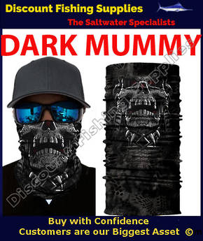 Face Shield - Dark Mummy