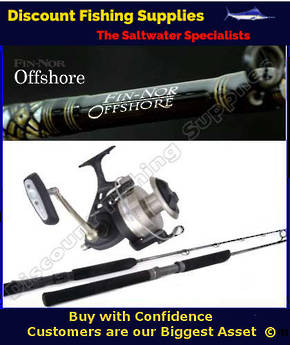 Fin-Nor Offshore 16' Surfcasting Combo
