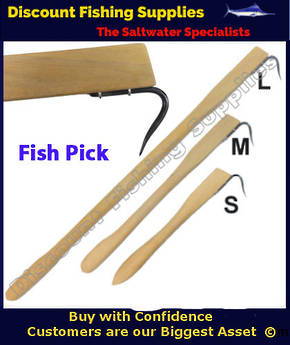 Wooden Fish Pick - Gaff 460mm