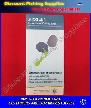 New Zealand Fishing Rules And Regulations - AUCKLAND Area