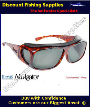 Fitover Navigator Medium Grey Polarized Sunglasses
