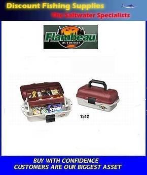 Flambeau 1 Tray Tackle Box 1512