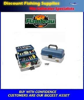 Flambeau 3 Tray Tackle Box 1737