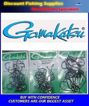 Gamakatsu Octopus Hook - 3/0, 4/0 or 5/0 Value Pack