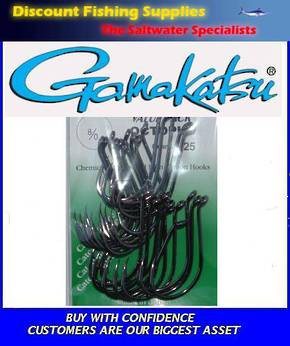 Gamakatsu Octopus Hook - 8/0 Value Pack